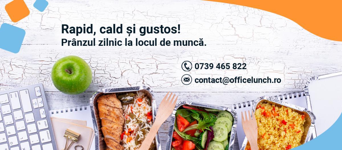 Branding & Marketing pentru Office Lunch Timișoara